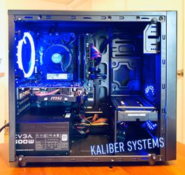 Custom Gaming Computer with Intel i3 9100, 1060 GTX, 128GB SSD/1TB HDD for Sale in Lake Worth,  FL