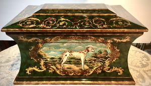 Gorgeous decorative box L20xW12.5xH12 inch Lbs 20 for Sale in Chandler, AZ