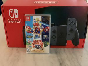 Nintendo Switch v2/ Super Mario 3D for Sale in Alexandria, VA