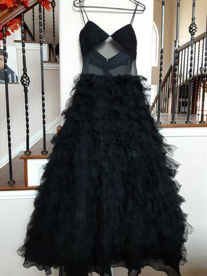 Black sheer prom dress for Sale in Grand Prairie, TX