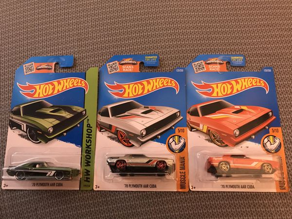 Hot Wheels '70 Plymouth lot