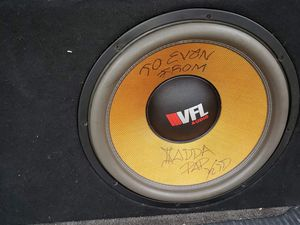 VFL 18 3k rms dual 1! In a tc designs box!!! 600$. for Sale in Lebanon, OH