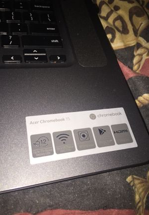 Acer Chromebook 15 for Sale in Baltimore, MD