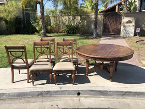 Free table & 5 chairs for Sale in Mission Viejo, CA