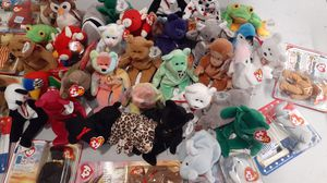 50, BEANIE BABIES for Sale in Seattle, WA