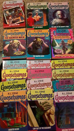 Goosebumps books for Sale in Jefferson City, MO