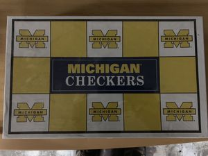 Michigan Checkers Board Game for Sale in Center Line, MI