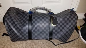 Louis Vuitton Keepall Bandouliere Damier Graphite 55 Black/Gray for Sale in San Diego, CA