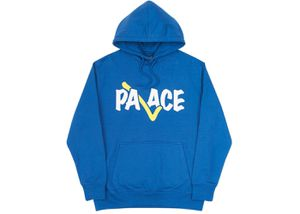 Palace Correct Hoodie Blue/Yellow FW17 Medium for Sale in Queens, NY