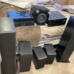 Full Surround Sound System For At Home Theater for Sale in Ladera Ranch, CA