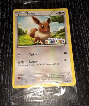 Pokemon Eevee Build-A-Bear card SEALED! for Sale in Kennewick, WA