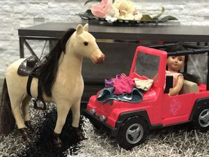 Our generation, doll , car , horse , and clothes for Sale in Kennewick, WA