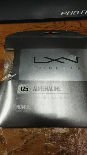 Luxilon Adrenaline 16L for Sale in Irvine, CA