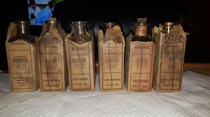 Antique medicine bottles and packaging and other products for Sale in Franklin, IN