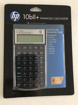 10bii+ financial calculator for Sale in Gainesville, VA