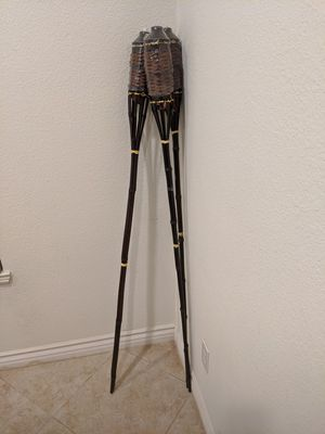 3 Tiki Torches for Sale in Lake Elsinore, CA