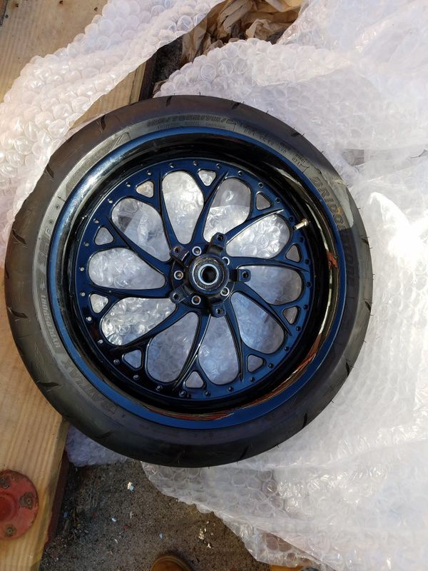 Fat tire kit for hayabusa and suzuki gsxr 1000