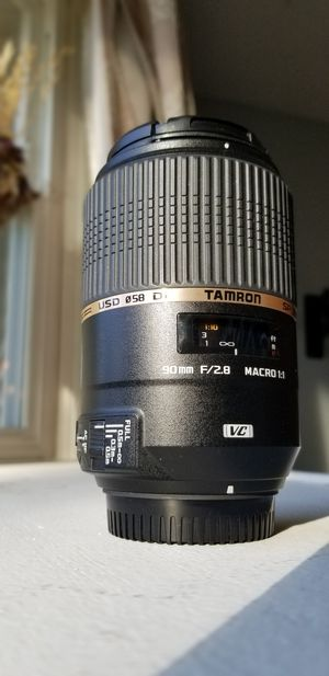 Tamron 90mm 2.8 Vi USD VC Macro Nikon fit for Sale in Lakewood, WA