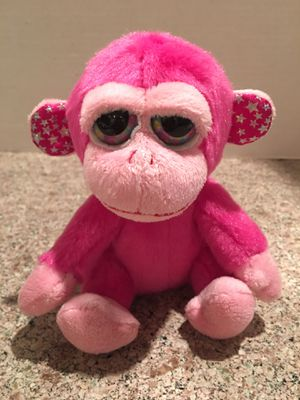 MONKEY 6 INCH PINK BEANIE BABY! ADORABLE ! CLEAN for Sale in Modesto, CA