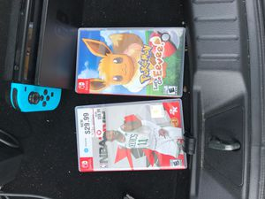 Nintendo switch with games for Sale in WARRENSVL HTS, OH