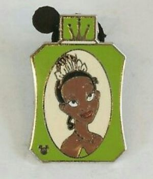 Disney Collectible Trading Pin featuring Tiana From Princess and the Frog, Hidden Mickey Perfume Pin for Sale in Los Angeles, CA