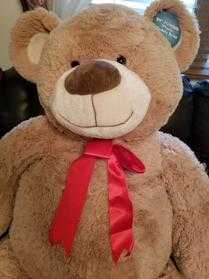 BRAND NEW LARGE 59 INCH TALL TEDDY BEAR $100. for Sale in Glen Allen, VA