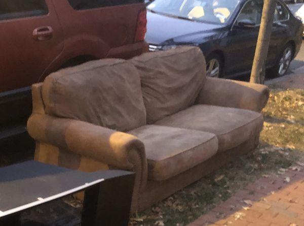 Free Sofa at 440 R St