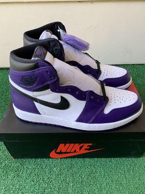 Jordan 1 Retro High Court Purple 2.0 for Sale in Fresno, CA