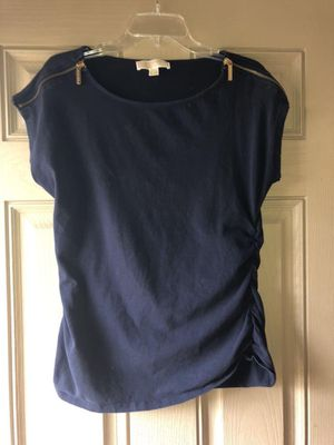 MK Michael Kors Short Sleeve Navy Blue XL for Sale in Milton, FL