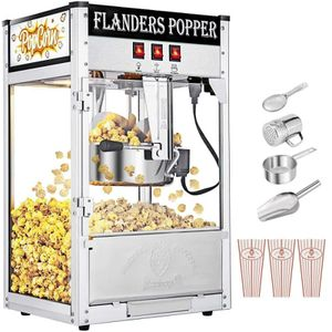 Commercial Vintage Popcorn Maker 8oz Capacity Hot Oil Corn Popper Tempered Glass NEW for Sale in San Diego, CA