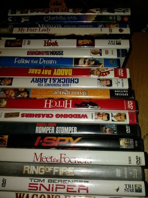 DVD's 300 for Sale in Flat Rock, MI