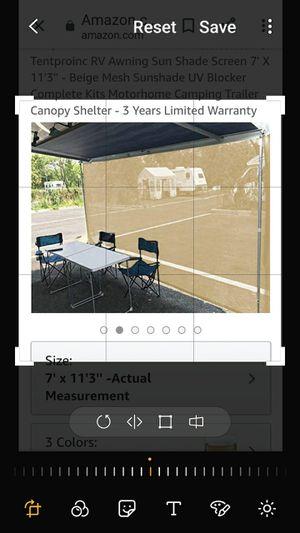 RV screen for Patio for Sale in Apopka, FL