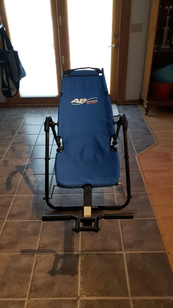 AB lounge sport, exercise machines for abs