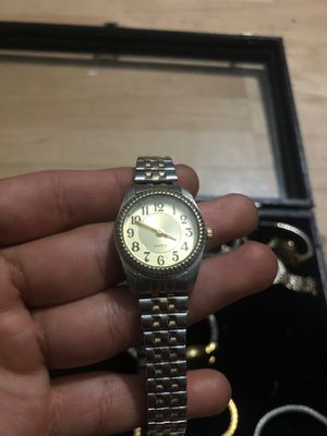 Quartz small women's silver watch for Sale in San Bernardino, CA