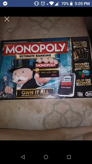 Monopoly ultimate banking game for Sale in Harrisonburg, VA