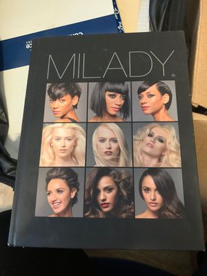 Milady cosmo book for Sale in West Palm Beach, FL