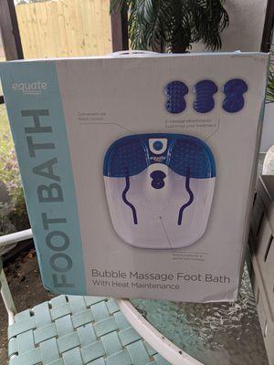 Equate massaging foot bath for Sale in Fort Walton Beach, FL