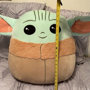 Baby Yoda 20 Inch Squishmallow for Sale in Riverside, CA