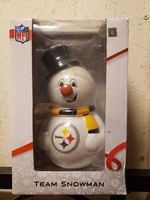New Pittsburgh Steelers Football Team Snowman for Sale in Washington, DC