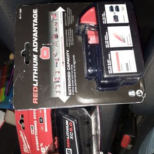 Milwaukee M18 5.0 Batteries for Sale in Hillsboro, OR