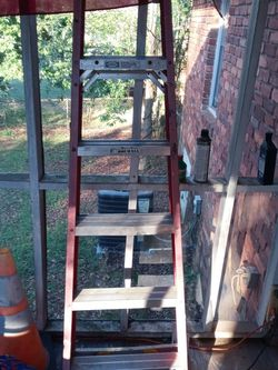 Three Tool Boxes When Miscellania Tools 6 Foot Ladder Small Air Compressor Set Of Work Light for Sale in Stockbridge,  GA