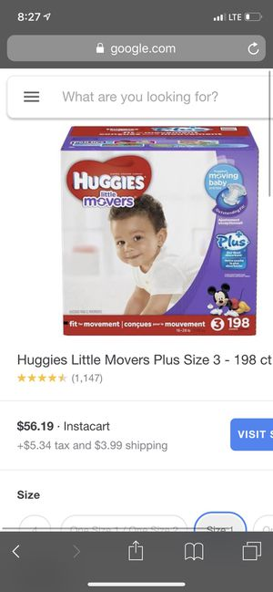 Huggies diapers for Sale in Norco, CA
