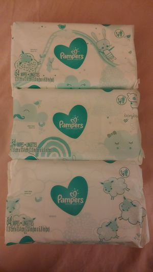 64 baby wipes packs for Sale in La Habra Heights, CA
