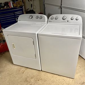 Washer And Dryer ( Great Condition) for Sale in Marietta, GA