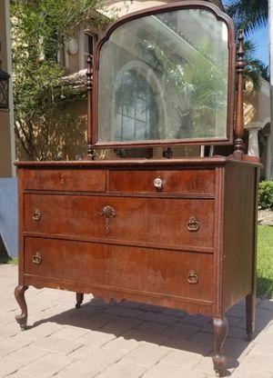 100 year old antique dresser vanity for Sale in Lake Worth, FL