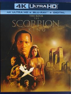 The Scorpion King 4K Brand New for Sale in Los Angeles,  CA