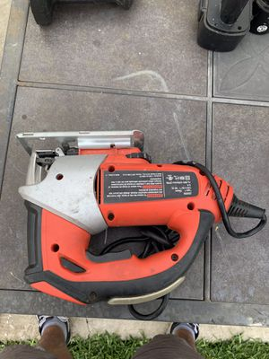 BRAND: BLACK + DECKER JIG SAW for Sale in Chino, CA