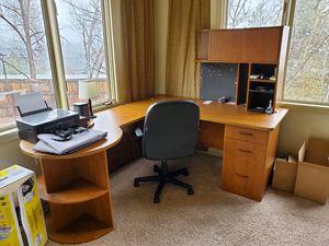 Corner Office Desk for Sale in Littleton, CO