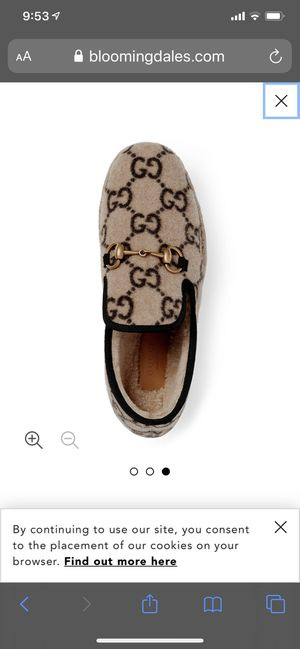 NEW Authentic Women's GUCCI wool loafers, shoes, size 41. US size 10.5-11 for Sale in Shoreline, WA