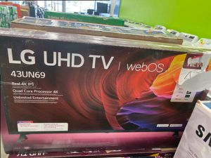 43 inch tv lg wos ☺️☺️☺️😎🤩💨 KQ0LX for Sale in Fort Worth, TX
